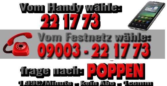 Anrufen 221773 und Luder poppen