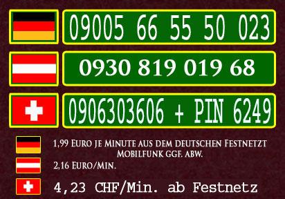 Geile Telefonsex Nummern